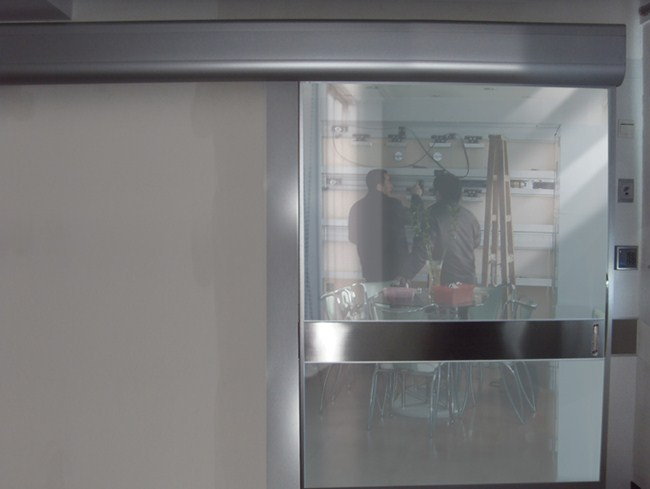 单开玻璃医用自动门
