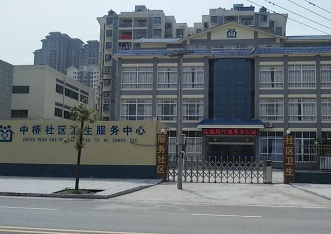 中桥社区自动门