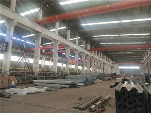 河南亚圣薄膜大棚生产车间