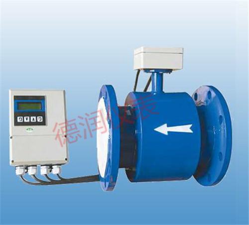 电磁流量计能够**测量瞬时速度总流量和积累总流量
