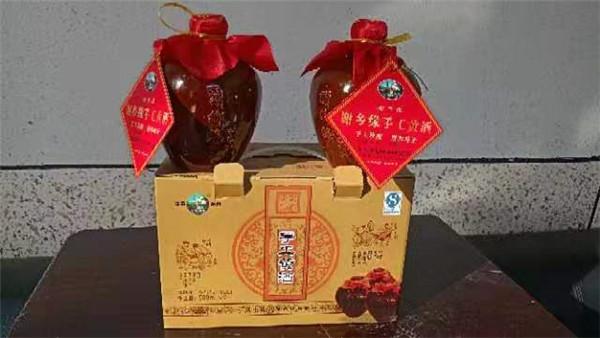陕西坛装手工黄酒