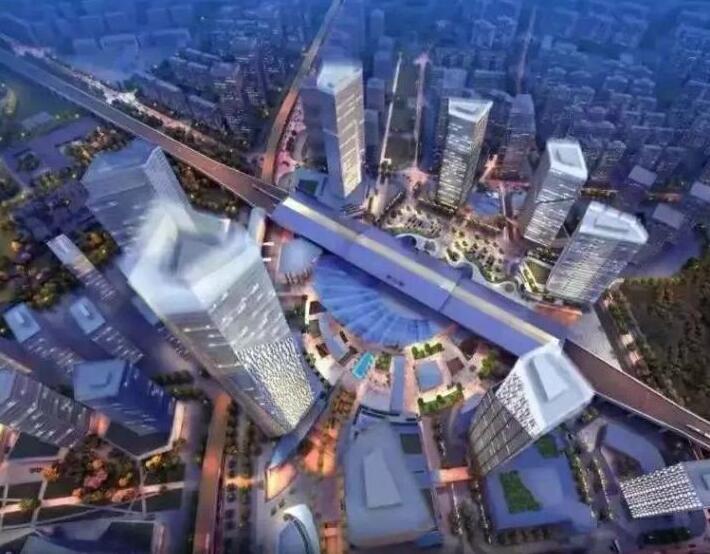 四川首 个高铁TOD项目规划开标