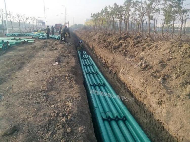 西宁一、二污水厂管道工程