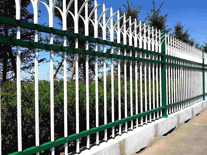 甘肃晋龙锌钢护栏-学校庭院外墙护栏厂家
