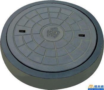 圆形井座井盖板