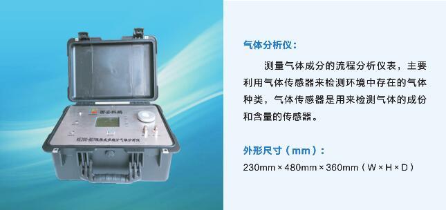 KE200-B01便攜式多組份氣體分析儀