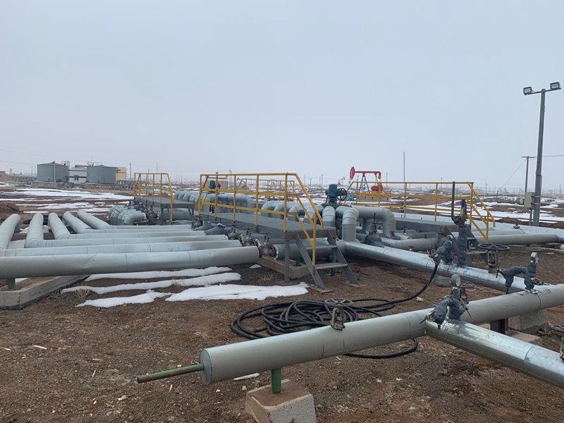 新疆石油公司采油厂检测CO2和O2在线分析系统使用现场