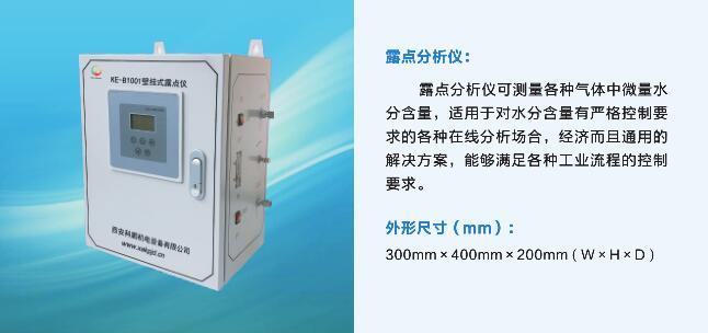KE-B1001壁掛式露點儀