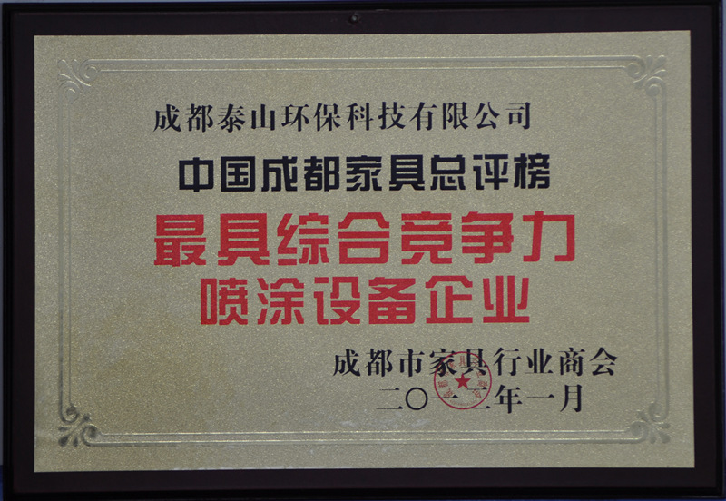具综合竞争力喷涂利来w66下载企业证书