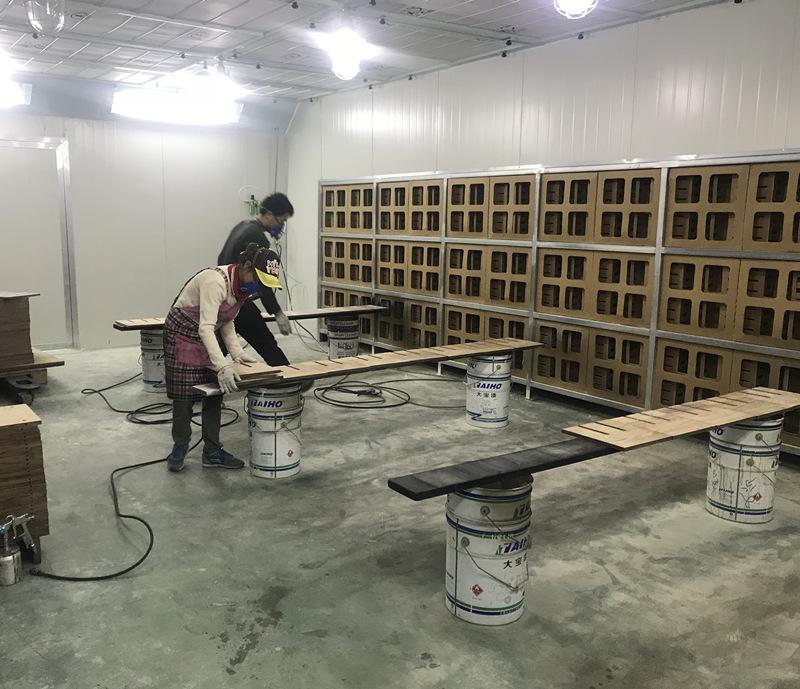 水性漆喷烤漆房