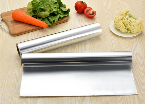 山东铝箔卷在餐饮上面的应用!