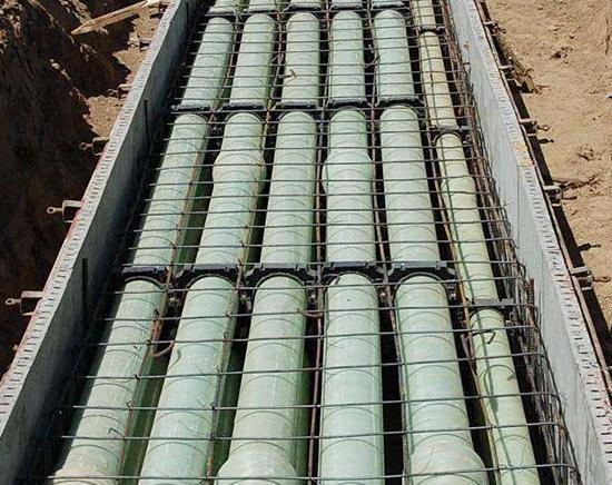 陕西玻璃钢管道生产