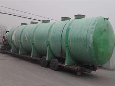 玻璃鋼汙水處理設備