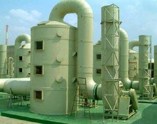 玻璃钢烟囱制造流程与安装过程详细介绍