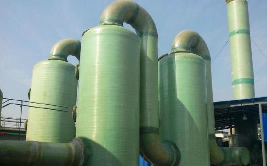 陕西玻璃钢脱硫塔的结构及特点,一起来看看吧~