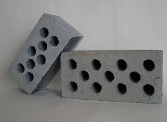 白银粉煤灰盲孔砖生产