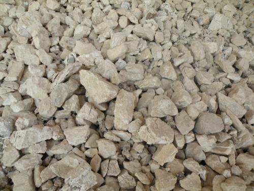 白银附近生石灰生产