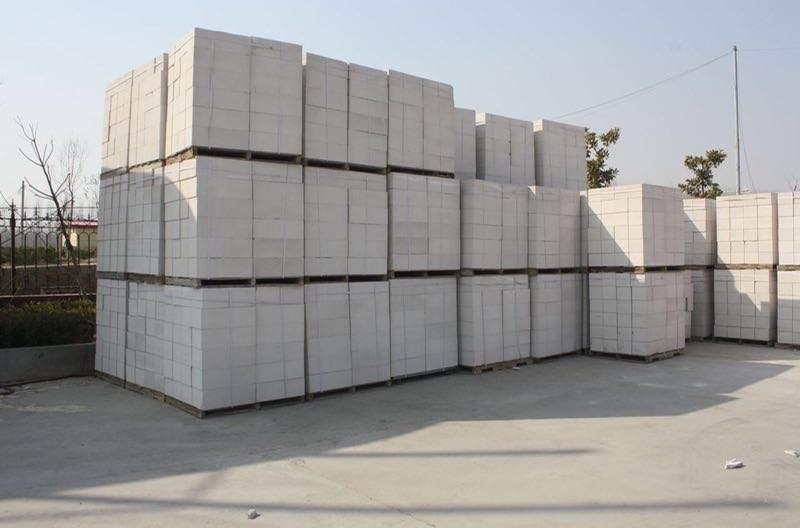 白银混凝土砌块安装