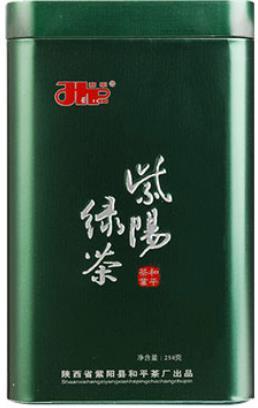 绿茶罐整体颜色以深绿为主,具有重色调,值得收藏!