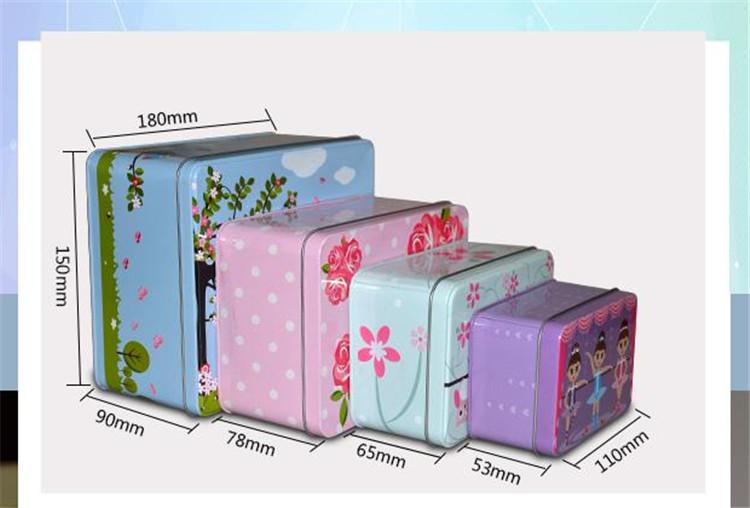 化妆品铁盒定制