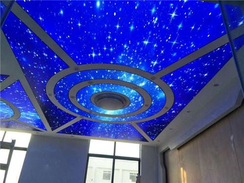 河南光纖燈星空頂案例