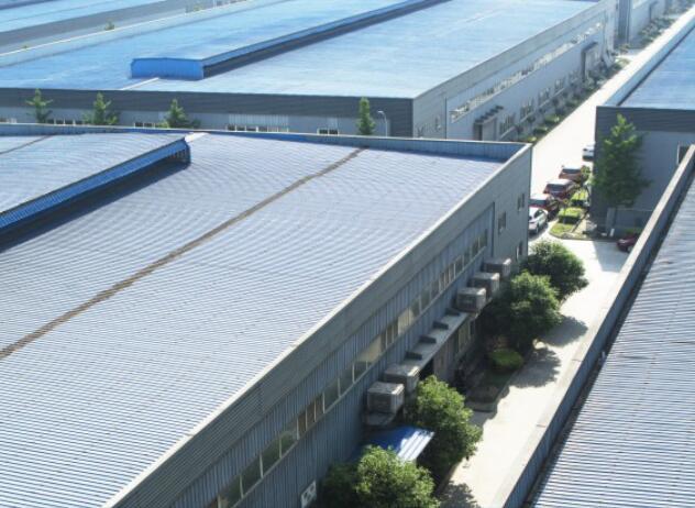 四川鋼塑分水器廠區展示