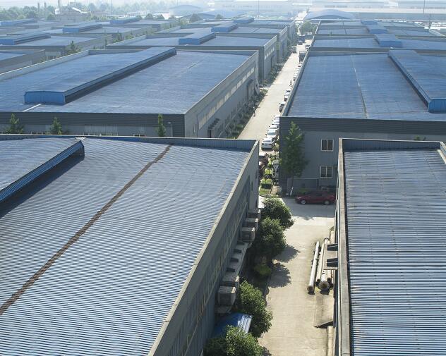 四川鋼塑複合管廠區展示