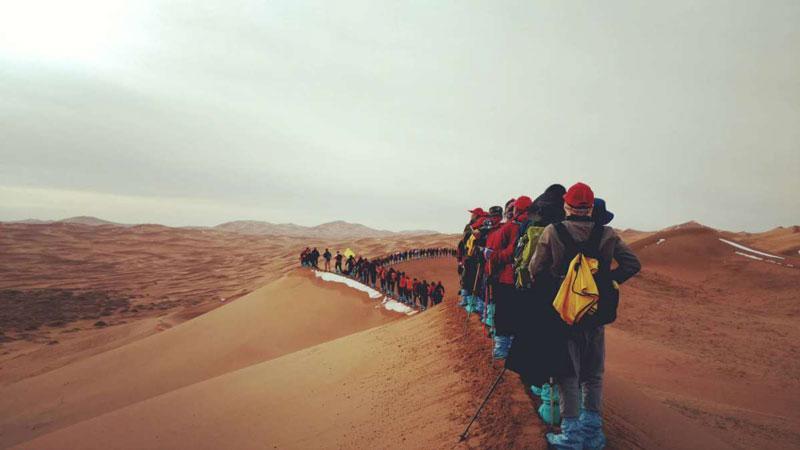 兄弟營沙漠團建
