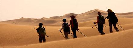 行走腾格里沙漠,寻找美丽的风景!
