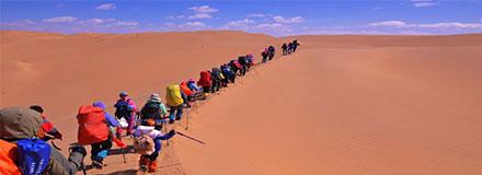 徒步穿越沙漠注意事项都有哪些?装备介绍须知请收藏