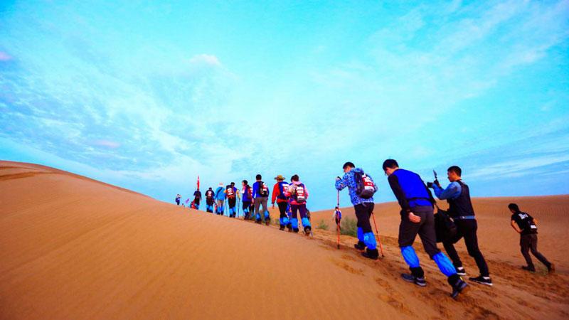 兄弟营沙漠高峰体验