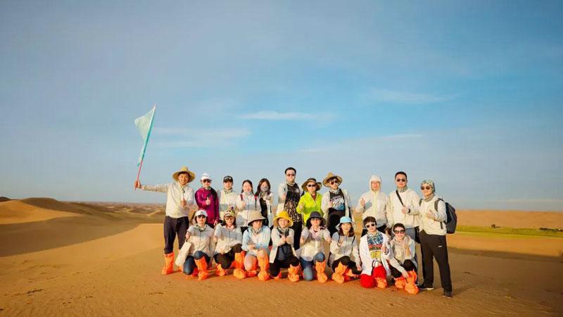 FY20嘉德諾年會—公益種植為沙漠添綠