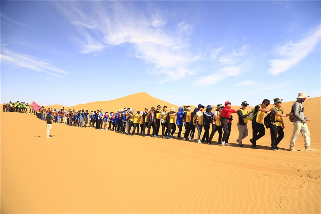騰格里大漠尋跡—兩天一夜徒步(短)