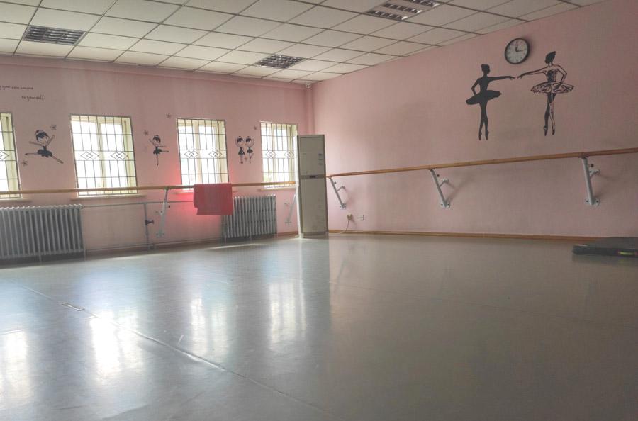 甘肃予馨舞蹈艺考培训舞蹈教室