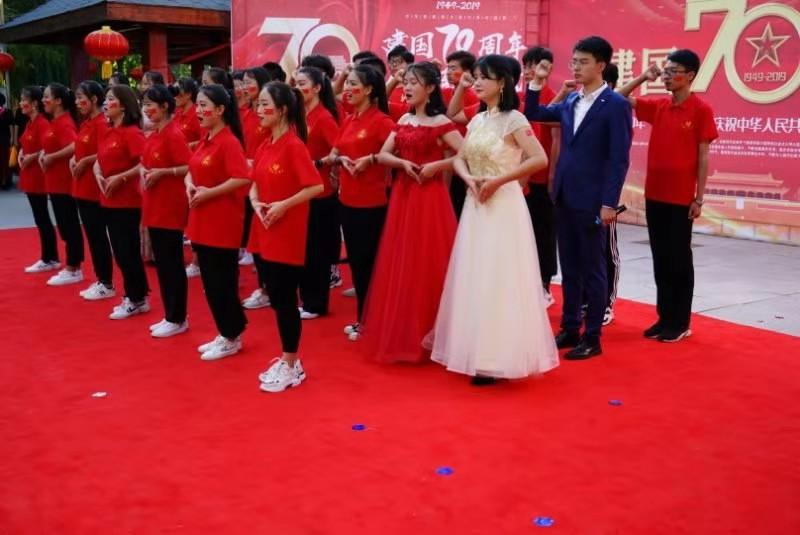 甘肃予馨艺术培训中心全体师生祝祖国成立70周年