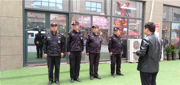 龙卫保安服务日常训练4
