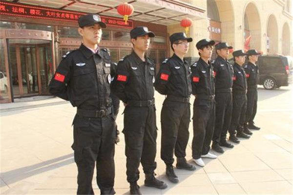 龙卫保安服务日常训练1