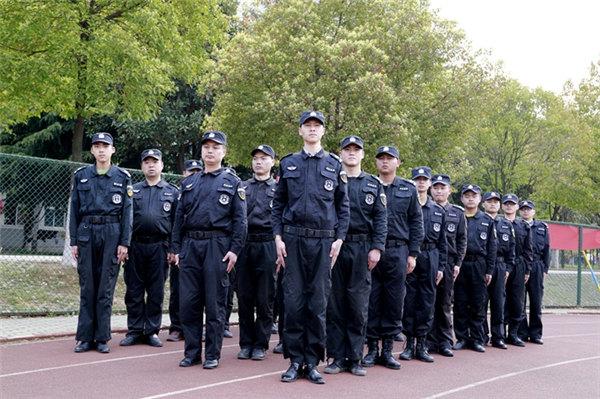 龙卫保安服务日常训练2