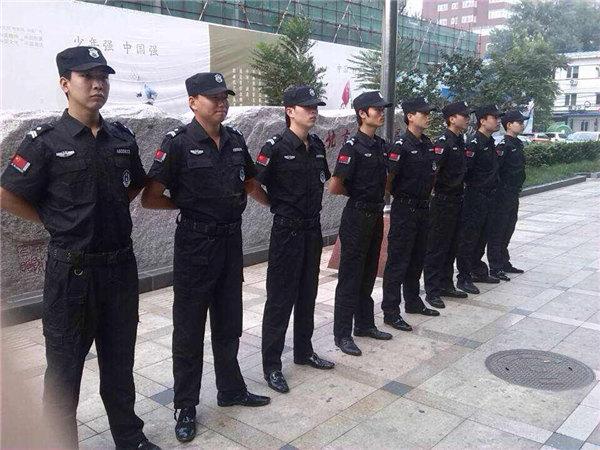 龙卫保安服务日常训练5