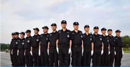 西安龙卫保安训练中