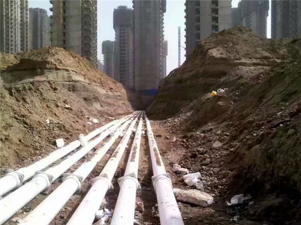 重庆蜀都花园PSP钢塑管管件安装图