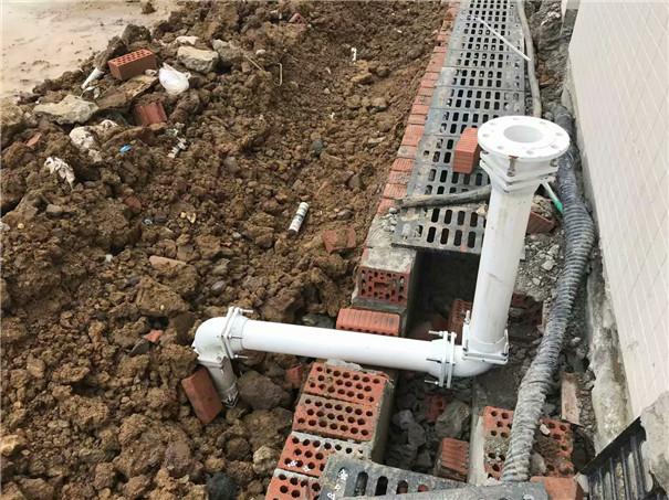 市政给水排水PSP钢塑扩口连接管安装