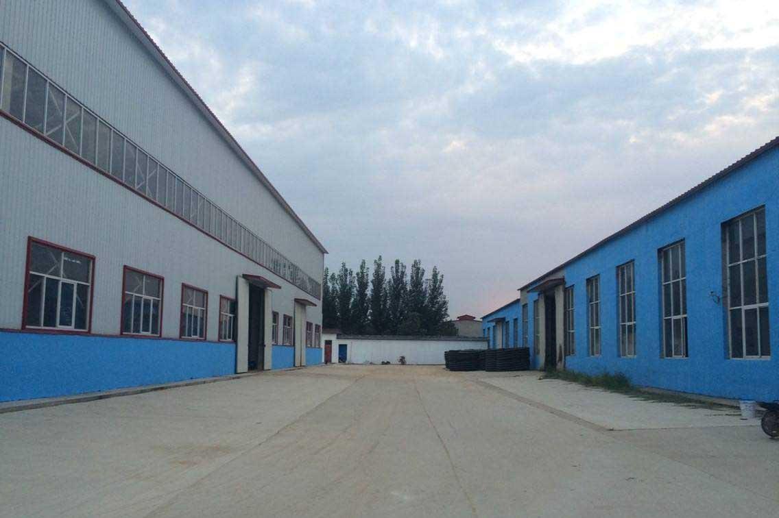 彩色压印地坪材料生产区域