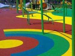 幼儿园彩色透水地坪案例