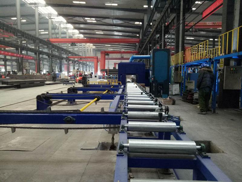 切割打磨除尘设备生产厂房