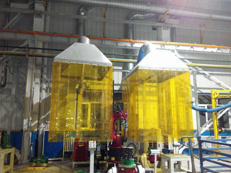 机器人工作站除尘