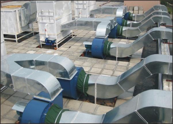 西安焊接车间新风装置净化系统