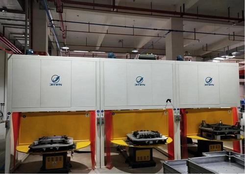 西安内置顶式机器人工作站专用净化器  鑫吉天环保