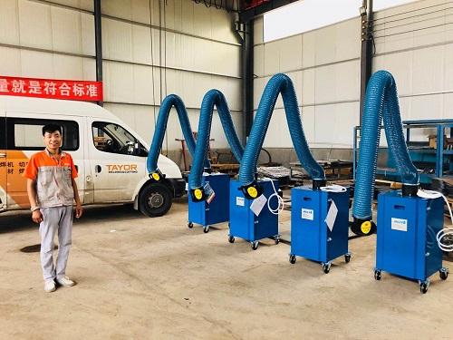 西安焊烟净化器:在焊接车间过滤空气的.佳方法 鑫吉天环保