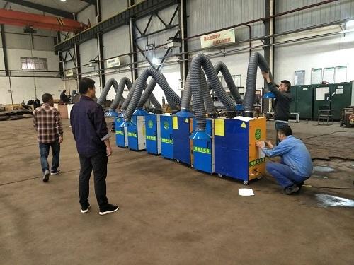 焊烟净化器的结构你知道多少?西安鑫吉天环保